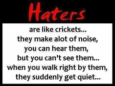 ghetto quotes with pictures | Ghetto Quotes About Haters Dear haters- please kick rocks