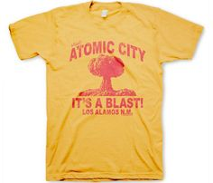 Atomic city is a total blast. This shirt reminds me of Fallout 3 for some reason.