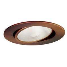 WAC Lighting R-636-CB 6 Inch Recessed Downlight Gimbal Ring Copper Bronze #  sc 1 st  Pinterest & WAC 6