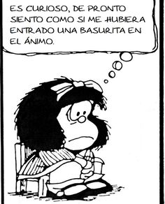 Mafalda ánimo