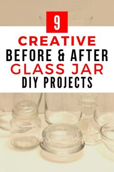 Do you love DIY projects? check out these 9 ideas how to reuse old glass jars for storage or home decor. These creative repurposed projects are fun and great if you're decorating on a budget. Cute Diy Projects, Diy Furniture Projects, Craft Tutorials, Upcycled Crafts, Repurposed, Hot Chocolate In A Jar, Fun Easy Crafts, Mason Jar Crafts, Mason Jars