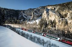 Glacier Express Winter-Hoch-Genuss - Rhätische Bahn RhB