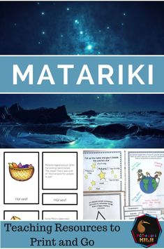 An introductory page looking at the celebration of Matarki (Maori New Year) and recommended resources Senior Activities, Montessori Activities, Physical Activities, Waitangi Day, Maori Symbols, Cloze Activity, Senior Gifts, Crafts For Seniors, Matching Cards