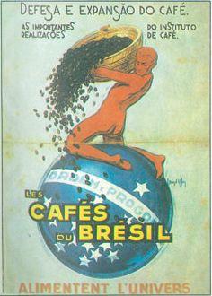 Anúncio café, Café: tom nacionalista (Foto: A Gazeta – 1929)