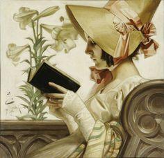 pintura de Joseph Christian Leyendecker
