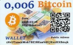 0,006 Bitcoin NFC peňaženka – DiGiPAY.sk