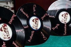 Schallplatten zur Deko