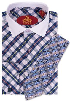 Robert Lewis Men's Fashion Dress Shirts