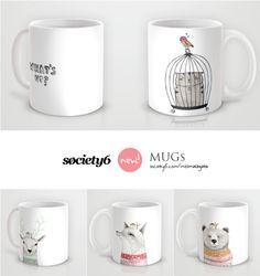 missmalagata: Novedades: Mugs en Society!