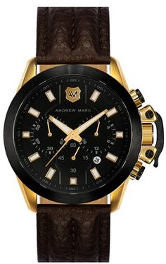 #Andrew Marc              #Jewelry                  #Andrew #Marc #Watches #Chronograph #Leather #Strap #Watch, #45mm             Andrew Marc Watches Chronograph Leather Strap Watch, 45mm                                               http://www.snaproduct.com/product.aspx?PID=5268433
