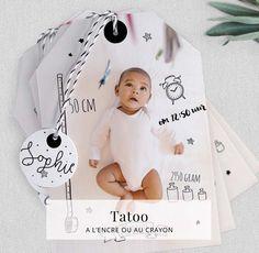 Faire-part naissance, Faire-part Moulin Roty et Katherine Roumanoff - Cottonbird.fr