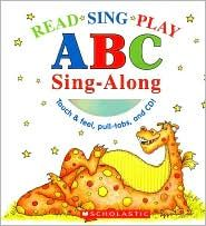 This book is an interactive ABC book. It has a lot of sensory elements, and allows the child to interact with the book. There is also an interactive CD for the sing-a-long.