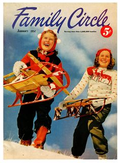 Winter Family Circle magazine cover