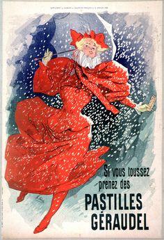 Pastilles Geraudel (litho) Poster Print by Jules Cheret x Retro Poster, Poster Vintage, Norman Rockwell, Vintage Advertisements, Vintage Ads, Vintage Medical, Retro Ads, French Vintage, Framed Art Prints