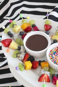 food for tutti frutti little girls party; fruit fondue with dairy free chocolate fondue dip; Fruit Birthday, Birthday Bbq, Girl 2nd Birthday, Paris Birthday, 12th Birthday, Chocolate Party, Dairy Free Chocolate, Chocolate Fondue, Sleepover Birthday Parties