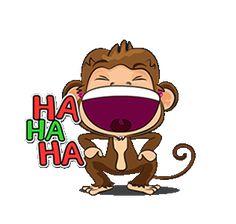 Carcajada Monkey Gif, Emoji Symbols, Minion Jokes, Funny Emoji, Sailor Moon Art, Cartoon Gifs, Sweet Pic, Animation, Cute Memes