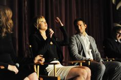 "SAG Foundation Presents A Conversations Q&A With ""American Hustle's"" Amy Adams, Bradley Cooper, Jennifer Lawrence And director David O. Russell (January 10, 2014)"