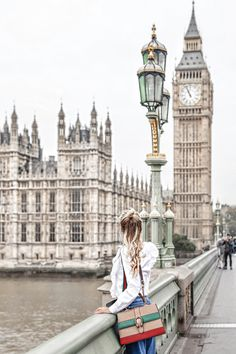Take us to London, pretty please!! This is total vacation inspiration, it makes us want to travel as soon as possible!