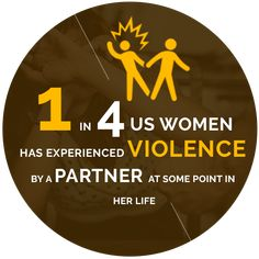 1 in 4 US Women has experienced violence by a partner at some point in her life