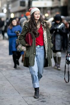 New York Fashion Week Street Style Fall 2013: Peony Lim