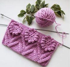 Knitting pattern and pattern - Knitting Crochet Two Color Knitting Patterns, Easy Knitting Patterns, Lace Knitting, Knitting Designs, Knitting Projects, Stitch Patterns, Knit Crochet, Crochet Patterns, Knitting Videos