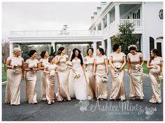 Glamorous South Jersey Wedding