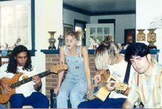 No Doubt - Early Years - Gwen Overalls Gwen Stefani Music, Gwen Stefani No Doubt, Rachel Friends, Haha, Joan Jett, Janis Joplin, Nostalgia, Music Love, Jimi Hendrix