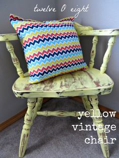 chair, painted chair, chalk paint, chalkpaint, how to make chalk paint, shabby decor, vintage decor, how to decorate