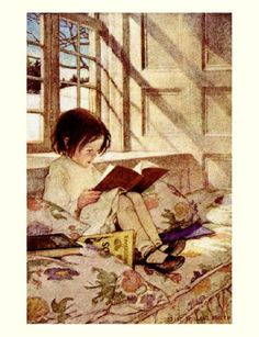 I love this. Artist: Jessie Willcox Smith, from a Child's Garden of Verses (1905)