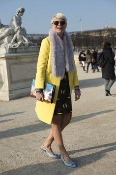 Street Style On March, 03 - Paris Fashion Week Womenswear A/W 2013