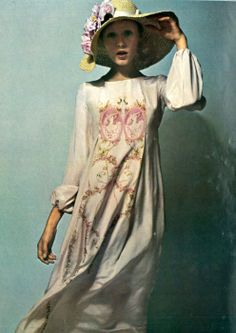 Susan Moncur by Guy Bourdin for French Vogue, 1970