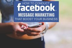 Facebook message marketing is highly potential tool may be most of the users do not know how to use it's full power in social relationship for better sales.