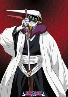 Mayuri Kurotsuchi...Sereitei's resident mad genius! Love him. #Bleach