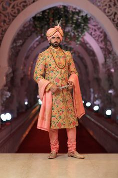 Be a dashing and handsome groom by getting your groom outfit customized by nivetas design studio Contact us on Indian Wedding Suits Men, Sherwani For Men Wedding, Indian Wedding Poses, Indian Wedding Couple Photography, Sherwani Groom, Indian Groom Wear, Couple Wedding Dress, Groom Wedding Dress, Wedding Card