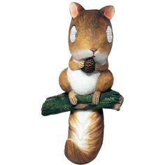 Solar Light Garden Squirrel  #karmakiss #UnusualGifts #UniqueGifts #YouKnowYouWantIt #allgiftythings