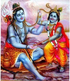 Shiva and Krishna