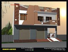 House Balcony Design, Single Floor House Design, 3 Storey House Design, House Ceiling Design, Home Stairs Design, Duplex House Design, House Front Design, Small House Design, Residential Building Design