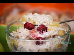 OREZ CU LAPTE SI FRUCTE LA CUPTOR (RETETA VIDEO) - Flaveur Healthy Desserts For Kids, Deserts, Sugar, Make It Yourself, Youtube, Postres, Dessert, Youtubers, Youtube Movies