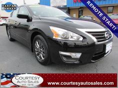 2015 NISSAN ALTIMA -- With ONLY 6,816 MILES!! -- Up To 38 MPG!! -- Rear CAMERA! -- REMOTE START! -- INCLUDES REMAINDER Of Factory WARRANTY! -- CALL TODAY! * 757-424-6404 * FINANCING AVAILABLE! -- Courtesy Auto Sales SPECIALIZES In Providing You With The BEST PRICE On A USED CAR, TRUCK or SUV! -- Get APPROVED TODAY @ courtesyautosales.com * Proudly Serving Your USED CAR NEEDS In Chesapeake, Virginia Beach, Norfolk, Portsmouth, Suffolk, Hampton Roads, Richmond, And ALL Of Virginia SINCE 1976!