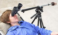 Ingenious idea for turning binoculars into something actually useful for stargazing