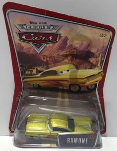 (TAS034322) - Mattel Disney Pixar The World of Cars Figure - Ramone