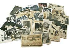 Vintage Photos Lot  / 66 Kids Photographs  /  Baby Snap Shots