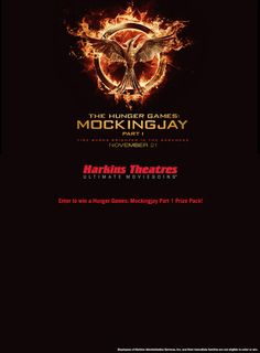 Mockingjay Part 1 Giveaway http://woobox.com/gjsu63/c761k3