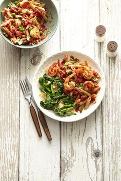 Shrimp Marinara #myplate #seafood #pasta #healthyfamilydinners #easydinners