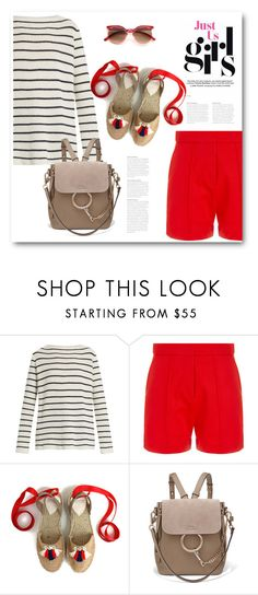 """""""Без названия #8014"""" by bliznec ❤ liked on Polyvore featuring The Row, Wood Wood and Chloé"""