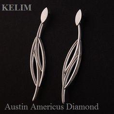 Sterling Silver earrings  at Austin Americus Diamond.   www.austindiamond.com