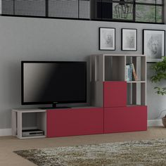 Today, we're back at it again with another amazing TV Unit design! Come get our GUDA Light Mocha and Claret Red TV Unit for only $579.40! Tags: #doseofmodern #furniture #furnituredesign #woodworking #interior #sofa #homedecor #decor #decoration #wood #woodwork #instadesign #furnituremurah #table #interiors #homedesign #chair #livingroom #furniturejepara #furniturejakarta #modern #industrialdesign #bedroom #mobilya #furnitureindonesia #decorating #industrial #productdesign #instahome Tv Stand Modern Design, Modern Tv Unit Designs, Modern Tv Units, Furniture Direct, Furniture Deals, Unique Furniture, Tv Unit Decor, Tv Decor, Home Decor