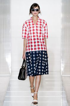 "Marni, S/S 13, Milan -  ""More clean, more fresh, more light"""