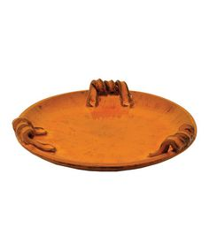 Take a look at this Orange Palermo Tray by The Import Collection on #zulily today!