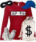 """""""PANZERKNACKER"""" Deluxe Damen Langarm T-Shirt für Panzerknacker Fans Kostüm Set von ShirtStreet online bestellen. Finde bedruckte """"Fasching Karneval Oktoberfest"""" Bekleidung wie """"PANZERKNACKER"""" in unserem Online-Shop"""